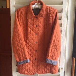 Burnt orange jacket